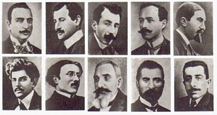 Konstantiniyye'den Sürgüne Gönderilen Ermeni İleri Gelenleri(1915)