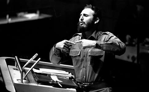 Dr. Fidel Castro Denounces Imperialism and Colonialism at the UnitedNations