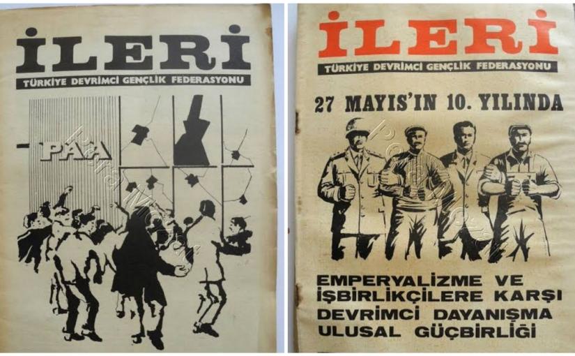 10 Ekim 1969 * FKF'den Dev-Genç'e